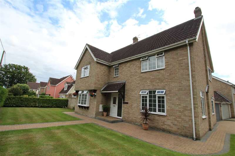 4 Bedrooms Detached House for sale in Martin House, Stoke Road, Leavenheath