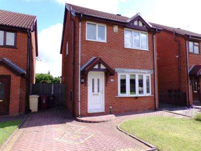 3 Bedrooms Detached House for sale in Buckthorn Close, Westhoughton, Bolton, Greater Manchester, BL5