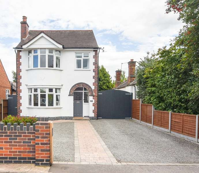 3 Bedrooms Detached House for sale in Grove Road, Blaby, Leicestershire, LE8