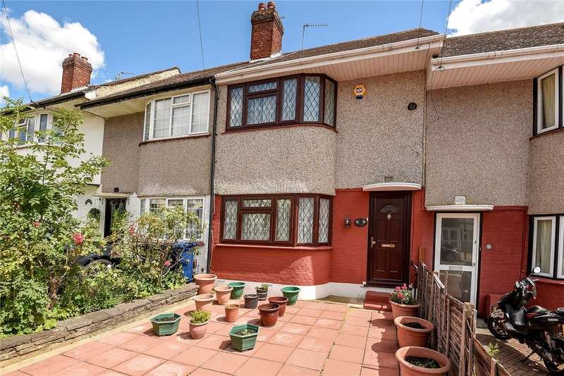 2 Bedrooms Terraced House for sale in Gonville Crescent, Northolt, Middlesex, UB5