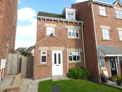 3 Bedrooms End Of Terrace House for sale in Heathcote Close, Woolley Grange, Barnsley, South Yorkshire