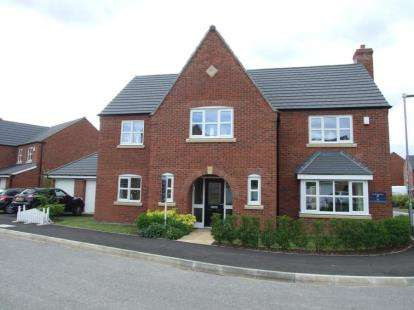 4 Bedrooms Detached House for sale in Cosby Road, Littlethorpe