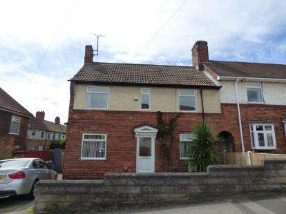 3 Bedrooms Semi Detached House for sale in Lyndhurst Avenue, Blidworth, Nottinghamshire