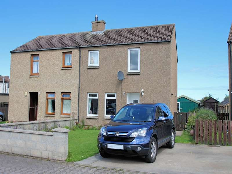 2 Bedrooms Semi Detached House for sale in 7 Tannachy Road, Portgordon, Buckie, AB56 5PG