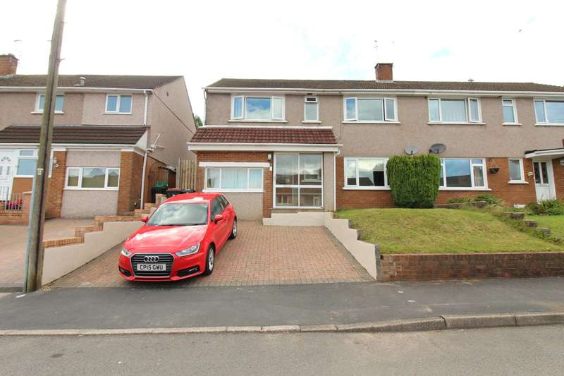 4 Bedrooms Semi Detached House for sale in Duffryn Close, Bassaleg, Newport, NP10