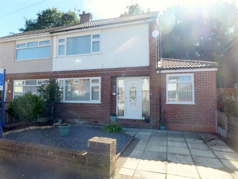 3 Bedrooms Semi Detached House for sale in Mossdale Drive, Rainhill, Prescot