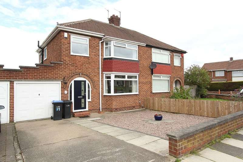 3 Bedrooms Semi Detached House for sale in The Oval, Middlesbrough, North Yorkshire, TS5 8EZ