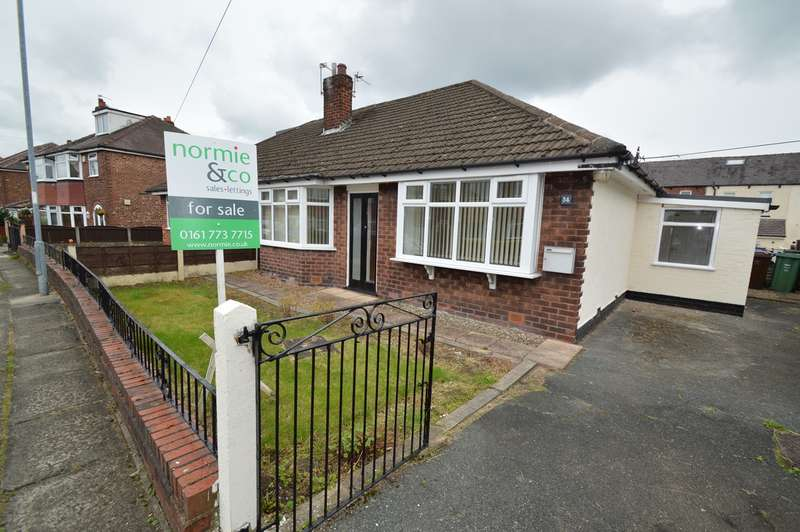 2 Bedrooms Semi Detached Bungalow for sale in Alexander Drive, Unsworth, BURY, BL9