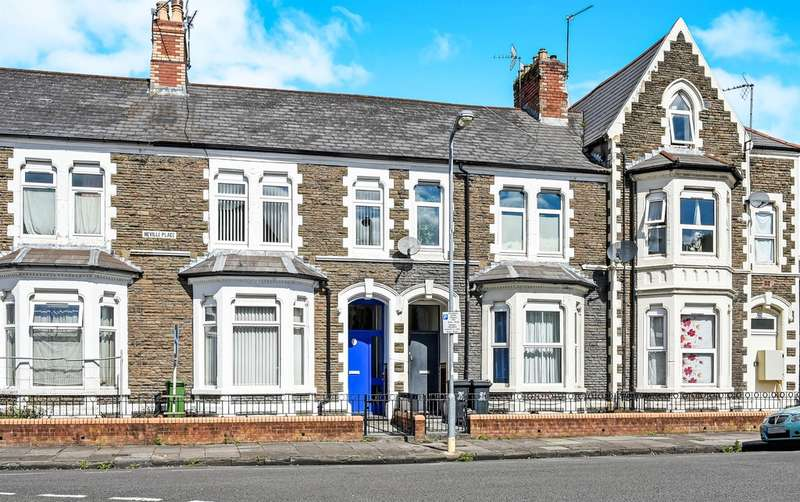 2 Bedrooms Ground Flat for sale in Neville Place, Cardiff