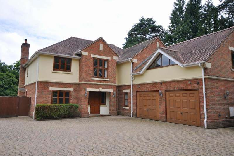 5 Bedrooms Detached House for sale in Avon Castle, Ringwood, BH24 2DQ