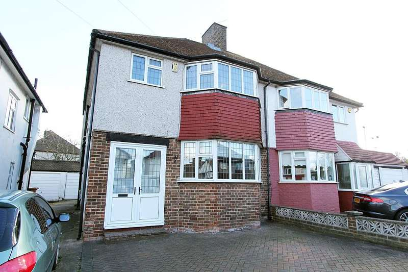3 Bedrooms Semi Detached House for sale in County Gate, New Eltham, London, SE9