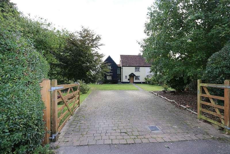 5 Bedrooms Semi Detached House for sale in High Street, Little Eversden, Cambridge, Cambridgeshire, CB23 1HE