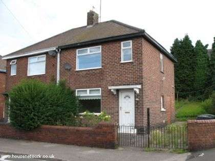 2 Bedrooms Semi Detached House for sale in 171, Holland Road, Chesterfield, Derbyshire, S41 9HE