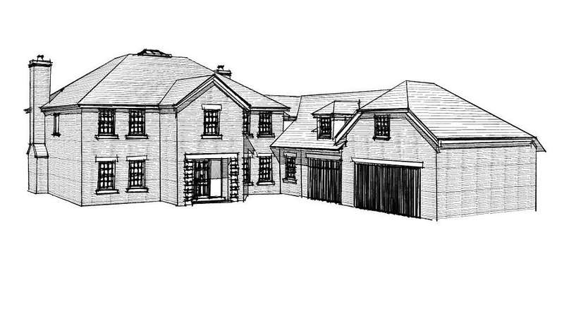 6 Bedrooms Detached House for sale in Plot 5, Shaw Park, Weston Lane, Oswestry, Shropshire, SY11 2BB