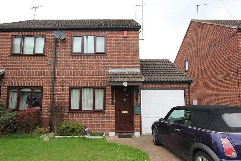 2 Bedrooms Semi Detached House for sale in 17, Samson Court, Ruddington, Nottingham, Nottinghamshire, NG11 6AP
