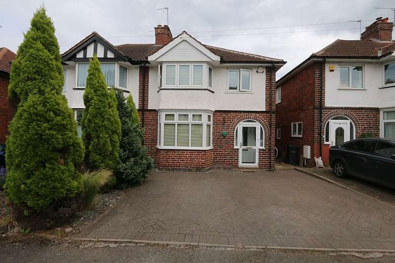3 Bedrooms Semi Detached House for sale in Wentworth Park Avenue, Harborne, Birmingham, West Midlands, B17