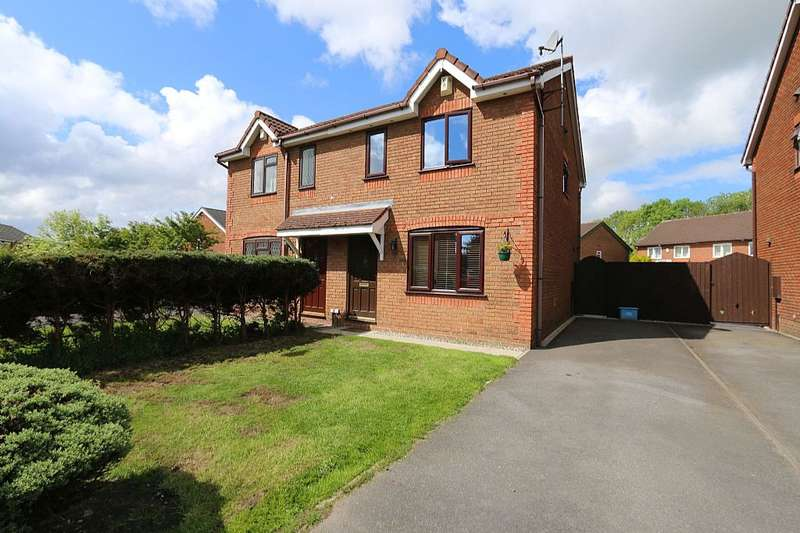 3 Bedrooms Semi Detached House for sale in Whinsands Close, Fulwood, Preston, Lancashire, PR2 9AP