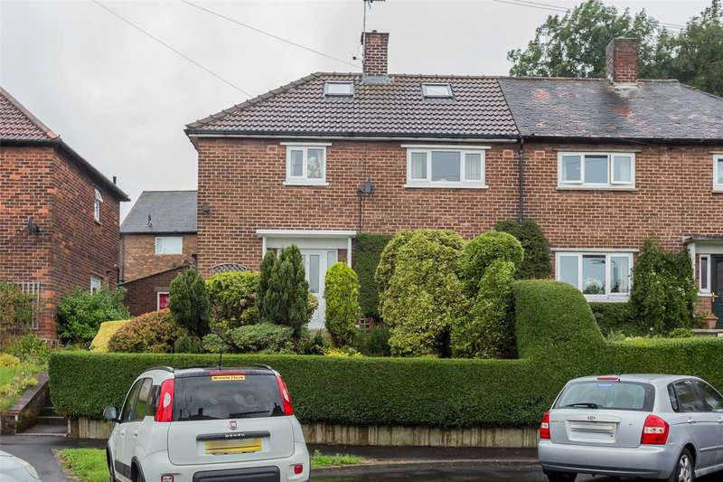 3 Bedrooms Semi Detached House for sale in Newstead Close, Sheffield, South Yorkshire, S12