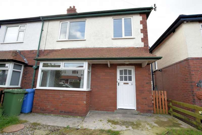 3 Bedrooms Semi Detached House for sale in Mount Park Avenue, Falsgrave, Scarborough, North Yorkshire YO12 5HE