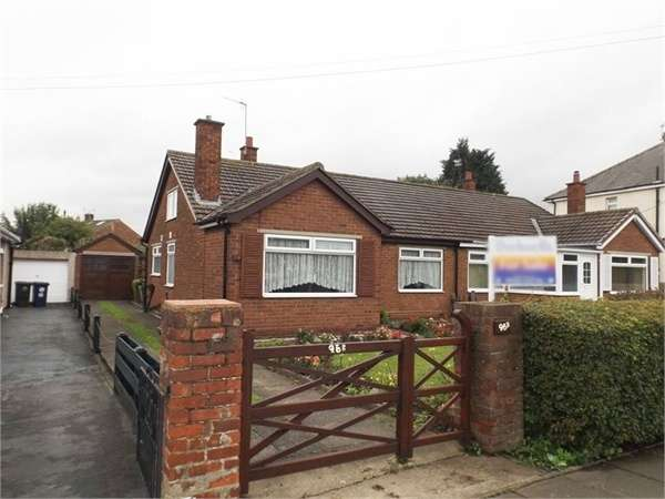2 Bedrooms Semi Detached Bungalow for sale in Church Lane, Eston, Middlesbrough, North Yorkshire