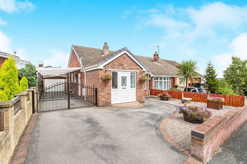 2 Bedrooms Semi Detached Bungalow for sale in Wrens Way, Birdwell, Barnsley, S70