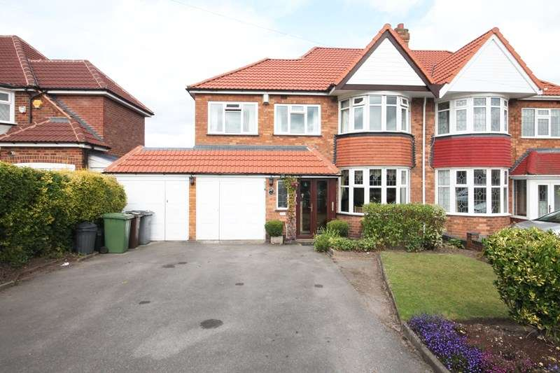 4 Bedrooms Semi Detached House for sale in Lyndon Road, Solihull