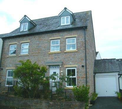 4 Bedrooms Semi Detached House for sale in Liskeard, Cornwall