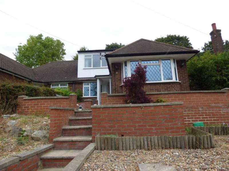 3 Bedrooms Semi Detached Bungalow for sale in Falconers Road, Luton Airport Area
