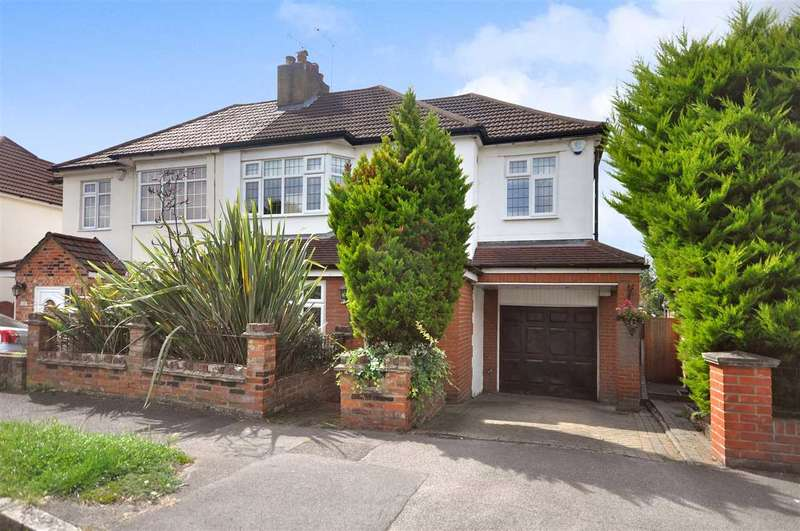 4 Bedrooms Semi Detached House for sale in Westwood Avenue, Brentwood