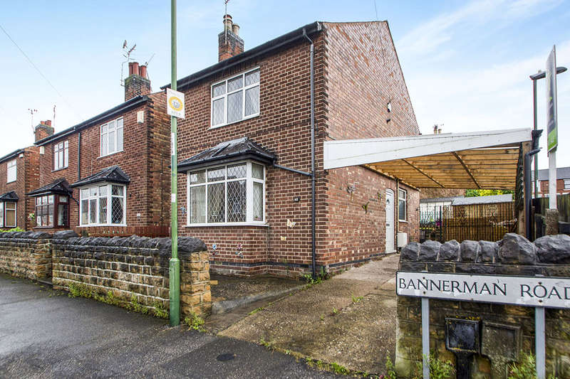 3 Bedrooms Detached House for sale in Bannerman Road, Highbury Vale, Nottingham, NG6