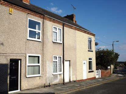 2 Bedrooms Terraced House for sale in Commonpiece Road, Clay Cross, Chesterfield, Derbyshire