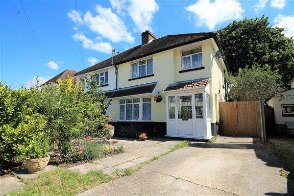 3 Bedrooms Semi Detached House for sale in Earlham Drive, Poole