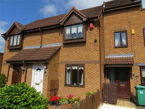 2 Bedrooms Terraced House for sale in Clough Court, Nottingham