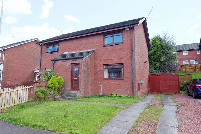2 Bedrooms Semi Detached House for sale in Colintravie Avenue, Glasgow, G33 1BW