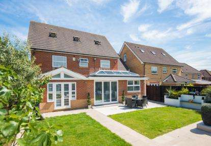 5 Bedrooms Detached House for sale in Jepps Close, Goffs Oak, Hertfordshire
