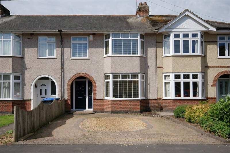 3 Bedrooms Terraced House for sale in Vernon Avenue, Hillmorton, RUGBY, Warwickshire