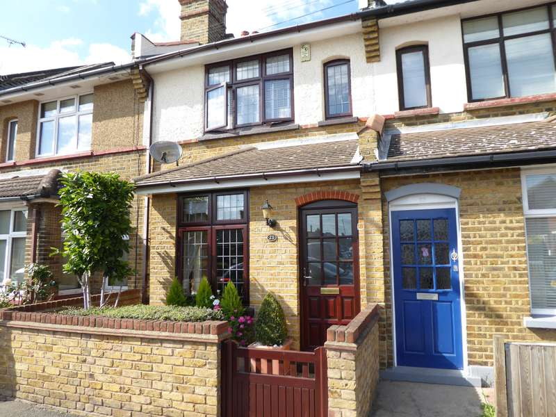 2 Bedrooms Terraced House for sale in Cedar Road, Slade Green, Kent, DA8 2NR