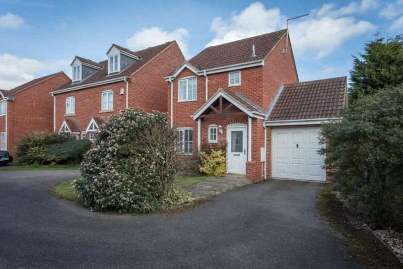 3 Bedrooms Detached House for sale in Bristol Close, Newark, Nottinghamshire, NG24