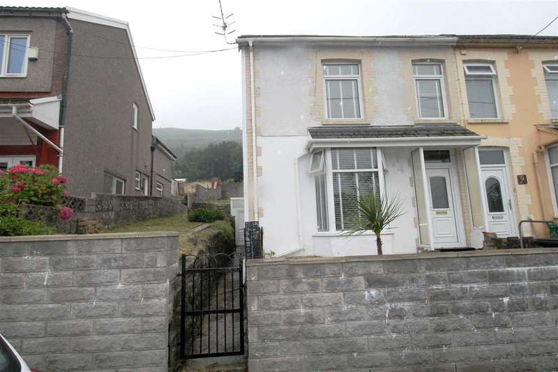 3 Bedrooms Semi Detached House for sale in Glyn Street, Glynfach, Porth