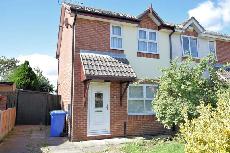 2 Bedrooms Semi Detached House for sale in Harvest Way, Eastfield, Scarborough, North Yorkshire YO11 3ND