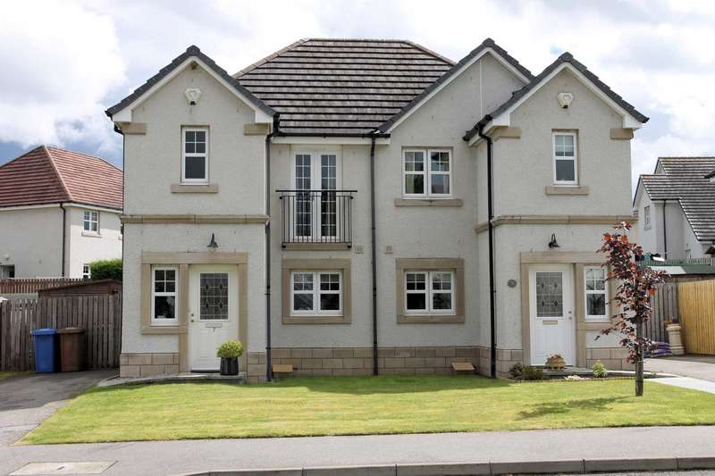 2 Bedrooms Semi Detached House for sale in Briargrove Terrace, Inverness