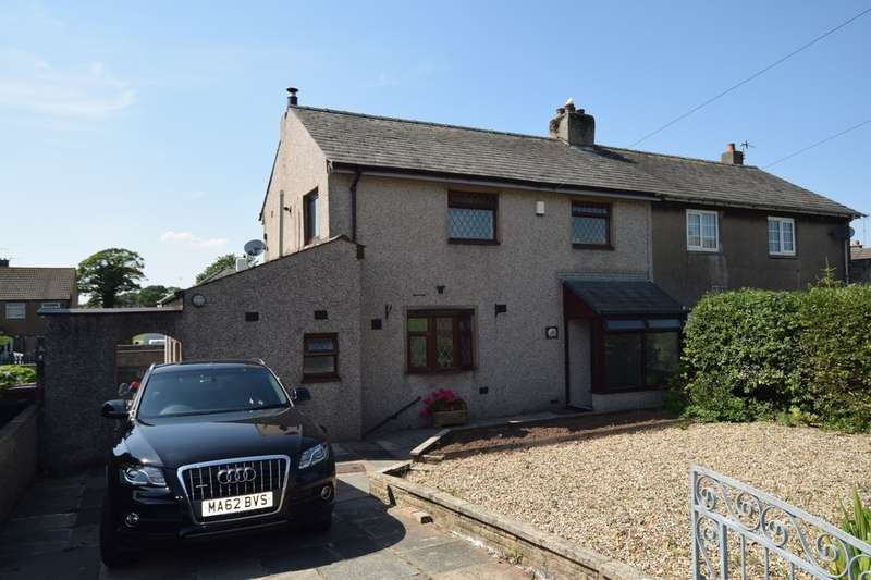 3 Bedrooms Semi Detached House for sale in Ruskin Avenue, Dalton-in-Furness, Cumbria, LA15 8LU