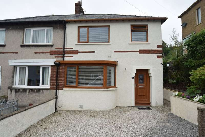3 Bedrooms Semi Detached House for sale in Garden Terrace, Ulverston, Cumbria, LA12 7DA