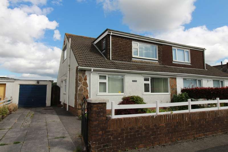 3 Bedrooms Semi Detached Bungalow for sale in Maesglas, Tredegar, NP22