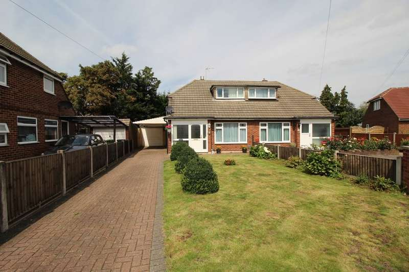3 Bedrooms Semi Detached Bungalow for sale in Lindsay Close, Stanwell, Staines-Upon-Thames, TW19