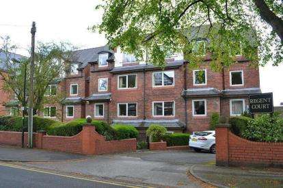 1 Bedroom Retirement Property for sale in Regent Court, Groby Road, Altrincham, Greater Manchester