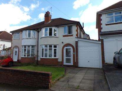 3 Bedrooms Semi Detached House for sale in Sheringham Road, Kings Norton, Birmingham, West Midlands