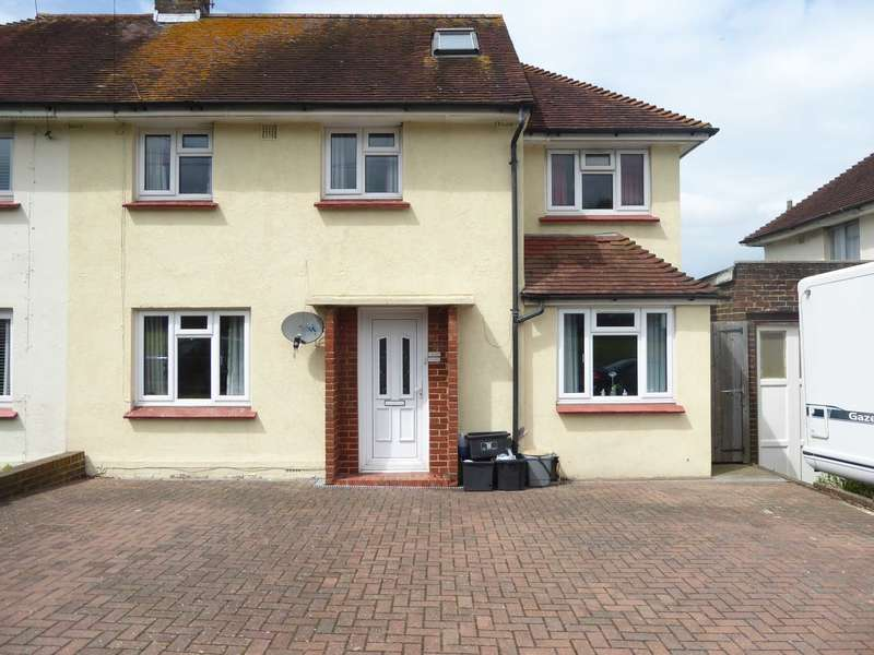 5 Bedrooms Semi Detached House for sale in Prince Charles Road, Lewes
