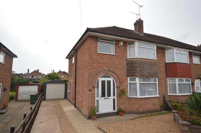 3 Bedrooms Semi Detached House for sale in The Chase, Leicester, LE3 2WA