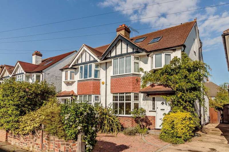 4 Bedrooms Semi Detached House for sale in Cranleigh Gardens, Kingston upon Thames KT2